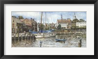 Framed Annapolis City Dock