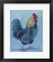 Framed Rooster B