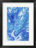 Framed Azure Transfusions Of Ocean Waves 1