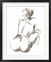 Framed Nude Seated