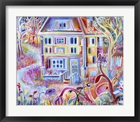 Framed Abandoned House from a Recurring Dream