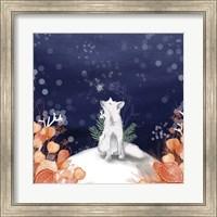 Framed Snow Fox