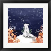 Framed Snow Fox