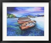 Framed Boats of Colour