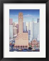 Framed GE Building NYC