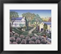 Framed Spring Farm