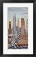 Framed Art Deco NY