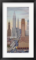 Framed Art Deco NY