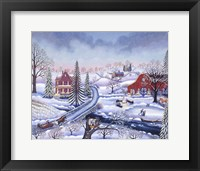 Framed Snowy Afternoon