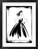 Framed Black Lady