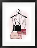 Framed Handbags Stock