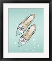 Framed Mint Shoes