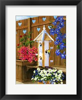Framed Mothers Day Birdhouse
