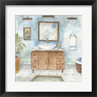 Framed Contemporary Bathroom II