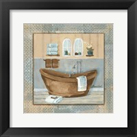Framed Copper Tub Variation