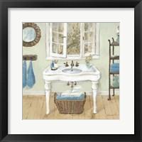 Framed French Country Bathroom I