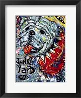 Framed Junk Yard MAD Dog