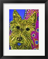 Framed Scottie Yellow