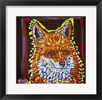 Framed MAD Fox