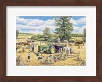Framed Family Harvest