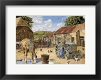 Framed Back From The Fields