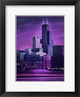 Framed Violet Chicago