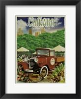 Framed Chicago Farmers Market