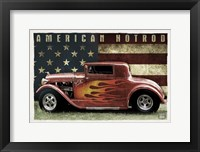 Framed American Hot Rod