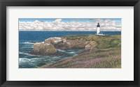 Framed Yaquina Head Lighthouse