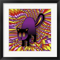 Framed Spooky Cat