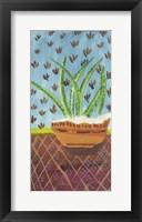Framed Succulent Southwest Pot