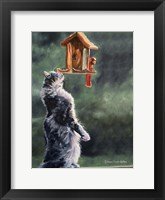 Framed Cat Feeder