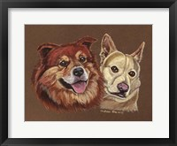 Framed Mix Breed Dogs