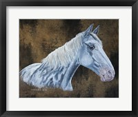 Framed Patch Horse