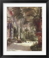 Framed Palm House