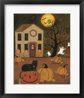 Framed Halloween Night