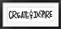 Framed Create & Inspire