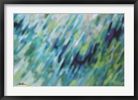 Framed Pastel Waves I