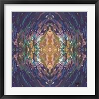Framed Mesmerizing Mandala