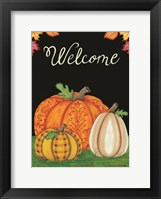 Framed October Welcome