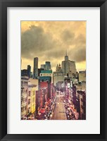 Framed City Streets