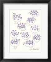 Framed Bowls of Berries