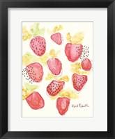Framed Strawberry Patch
