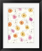 Framed Peach Pits