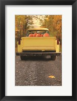 Framed Yellow Pumpkin Hauler