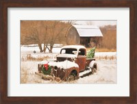 Framed Christmas Lawn Ornament