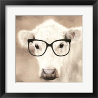 Framed See Clearly Cow