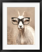 Framed See Clearly Goat