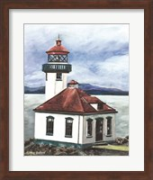 Framed Lime Kiln Lighthouse