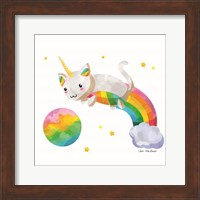 Framed Rainbow Caticorn II